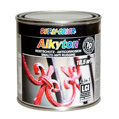 Duplicolor 245527 DC Alkyton Peinture Ral 9006 Brillant Soyeux, 250 ML MOTIP-DUPLI GmbH