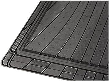 EU Black 4 CarFashion 230388 Lemans Car Door Mat All-Weather