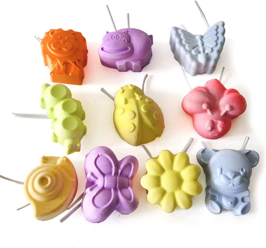 ShiftX4 10 piezas de juguetes para masticar hámster dientes moler piedras de calcio bloque mineral lava para chinchillas conejos gerbil ardilla hurón