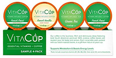 VitaCup Essential Vitamins and Coffee