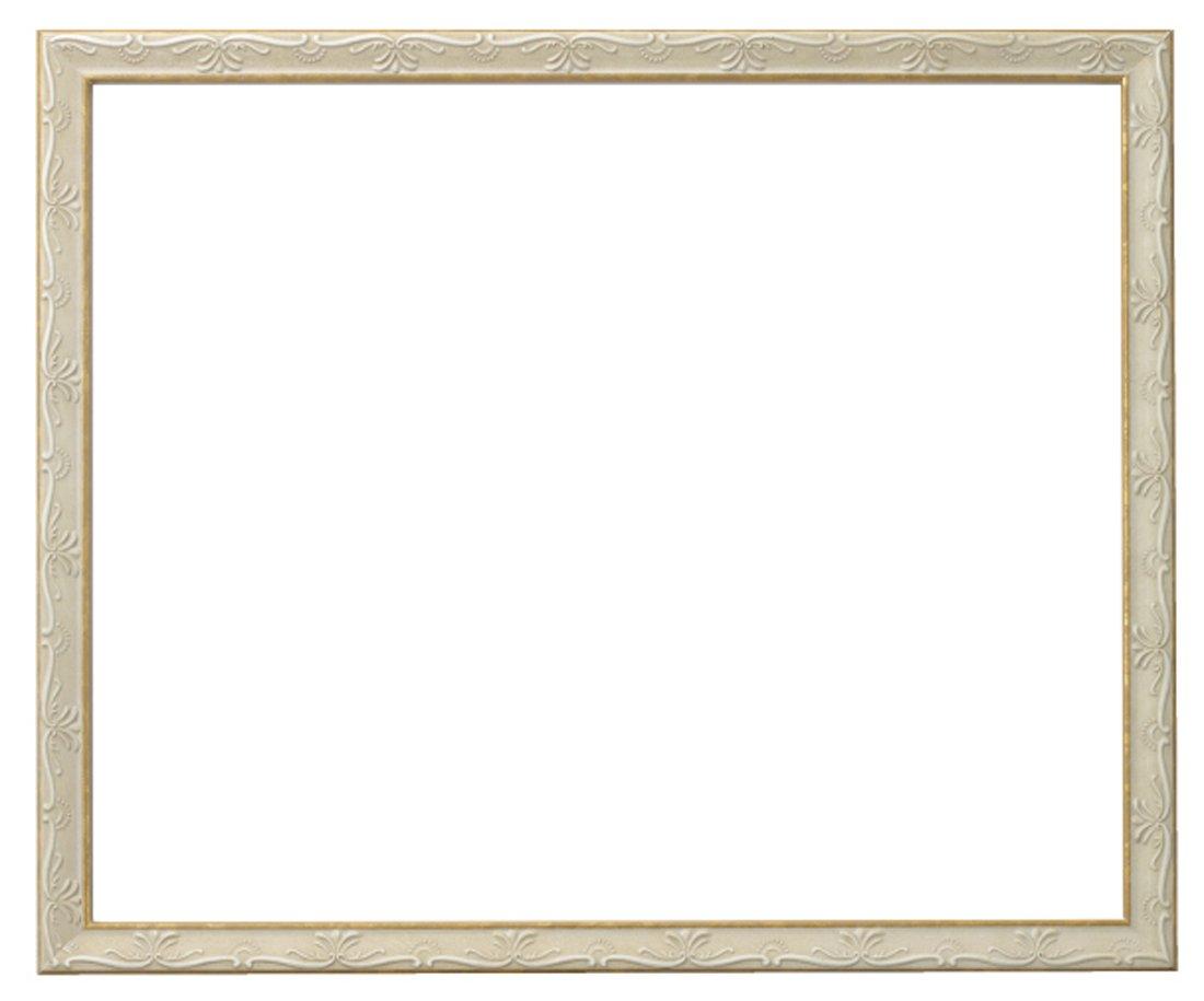 ラーソンジュールニッポン 額縁 ウィーン 白/ゴールド 全紙 アクリル DB34109 B00D0YZX6Y白/ゴールド 全紙