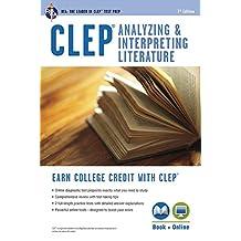 CLEP® Analyzing & Interpreting Literature Book + Online