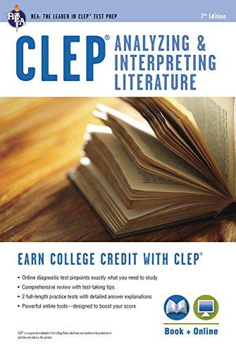 CLEP® Analyzing & Interpreting Literature Book + Online (CLEP Test Preparation)