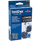 Brother LC980BK - Cartucho de tinta, color negro