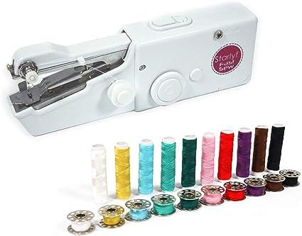 Starlyf Fast Sew – Máquina de Coser inalámbrica fácil de retocar + ...