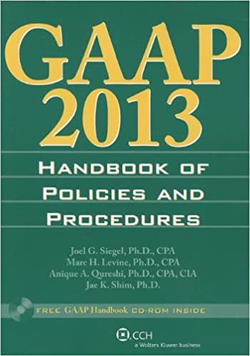 GAAP Handbook of Policies and Procedures 2016