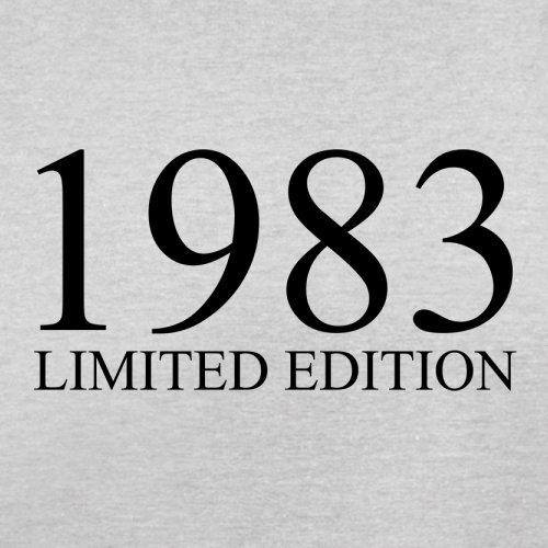 1983 Limierte Auflage / Limited Edition - 34. Geburtstag - Herren T-Shirt - Hellgrau - M