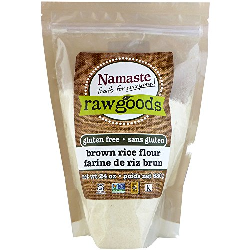 Namaste Foods Brown Rice Flour, 24 Ounce (Pack of 6) by Namaste Foods