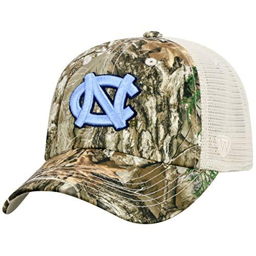 - Top of the World North Carolina Tarheels Sentry Adjustable Camo Meshback Hat