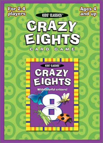 Crazy Eights Card Game (Kids Classics) (Crazy Eights Card Game)