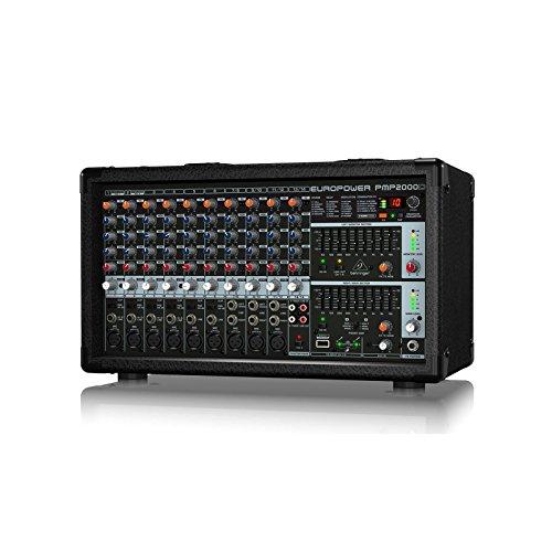 14 Channel Powered Mixer - Behringer PMP2000D | 2000 Watt 14 Channel Stereo Powered Mixer