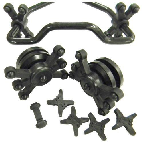 Limb Dampener (Bowjax Split Limb Complete Crossbow Kit, Black)