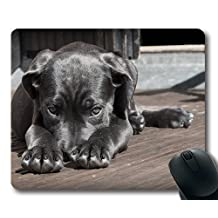 Gaming mouse pad mouse mat for mac and windows gamer Pet Dog Puppy The Shy Cute Animal Cane Corso for women/men/kids sold by Yanteng