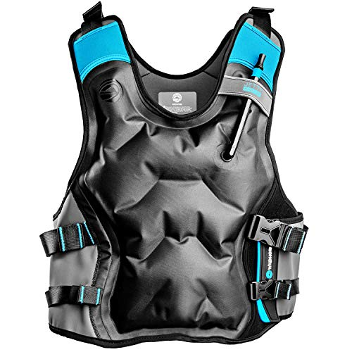Jetty Inflatable Snorkel Vest - Premium Snorkel Jacket for Adults. Features Balanced Flotation, Secure Lock and Comfort Fit. Perfect For Snorkeling, Paddle-boarding and Other Low Impact Water -