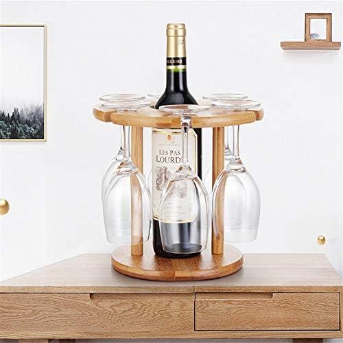 ワイングラスホルダー クリエイティブ家庭用ワイン棚ワイングラスの装飾をラック逆さゴブレット棚ヨーロッパのワイングラスラック グラスホルダー (Color : Natural, Size : 25x24.5x8.5cm)