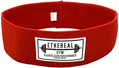 Elite Hip Flex Resistance Circle Loop Band Warmup Hips Quads Hams Glutes & Core for Mobility Stretching Weightlifting Powerlifting Crossfit training approved Performance Squat & Bands Exercise & Rehab