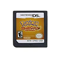 Heart Gold Game Card for 3DS NDSI NDS NDSL US Version(Reproduction Version)