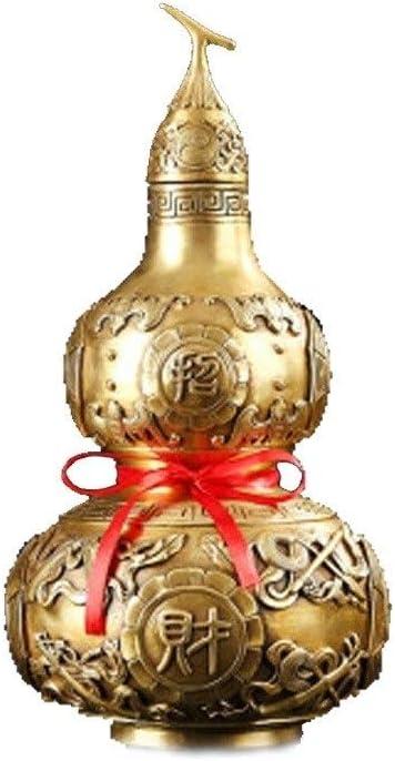 TMYQM ペットの,、真鍮のひょうたんの,、ペットの骨n、近親者、愛するペットのペットの火葬の骨nsお土産。 (Color : Gold, Size : 2)