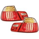 /Faros traseros para faros traseros para Eagle Eyes LED Faros traseros Juego en color rojo/
