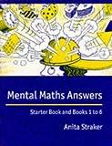Mental Maths Answer Book, Anita Straker, 0521589290