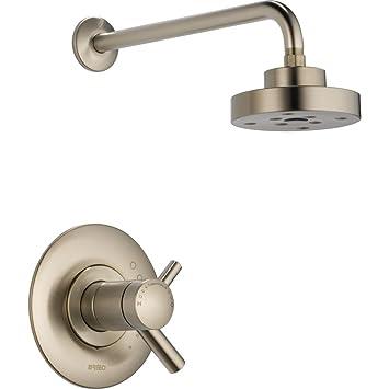Brizo t60275-pc Odin Single Handle tempassure termostático ducha solo grifo borde: Amazon.es: Bricolaje y herramientas