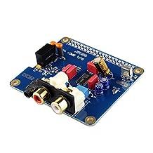 Kuman PIFI Digi DAC+ HIFI DAC Audio Sound Card Module I2S interface for Raspberry pi 3 2 Model B B+ Digital Audio Card Pinboard V2.0 Board SC08