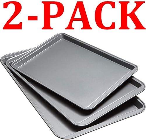 ノンスティッククッキーシート 3枚セット Set Of 3 Non-Stick Cookie Sheet, 2-Pack