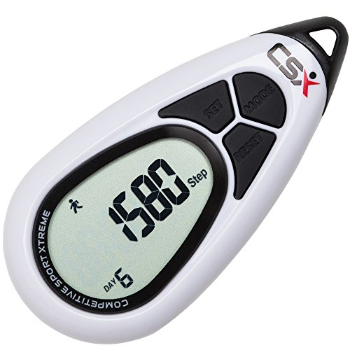 CSX P315A Pocket Pedometer Step Counter for Walking