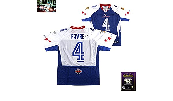 Brett Favre Autographed Signed Minnesota Vikings White Reebok Pro Bowl  Jersey at Amazon s Sports Collectibles Store 1f17ae392