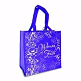 Eco Tote-Woman Of Faith-Purple w/Lavender by Divinity Boutique