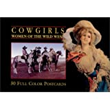 Cowgirls Postcard Book: Women of the Wild West