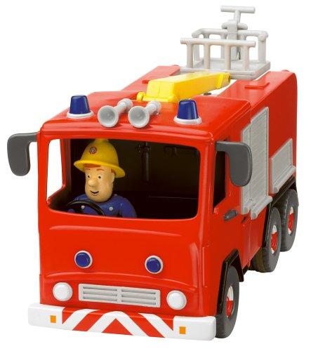 Amazoncom Fireman Sam  Friction Fire Engine with Sam Figure