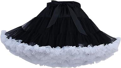 Adult Tutu Skirt Fluffy Ballet Party Pettiskirt Women/'s/' Dancewear Skirt Dress