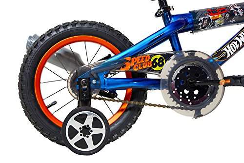 Hot Wheels Dynacraft Bike, Blue, 14'' by Hot Wheels (Image #4)
