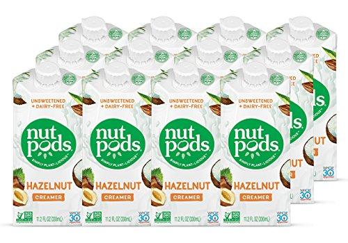 nutpods Dairy Free Creamer Unsweetened Hazelnut product image