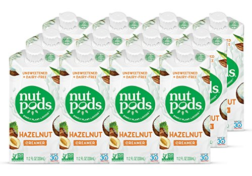 nutpods Dairy Free Creamer Unsweetened Hazelnut