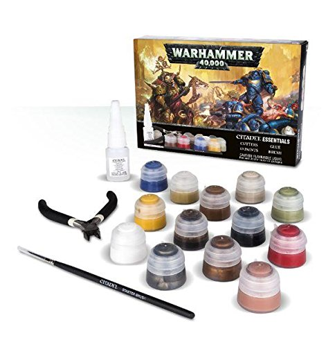 - Games Workshop Warhammer 40,000 Citadel Essentials