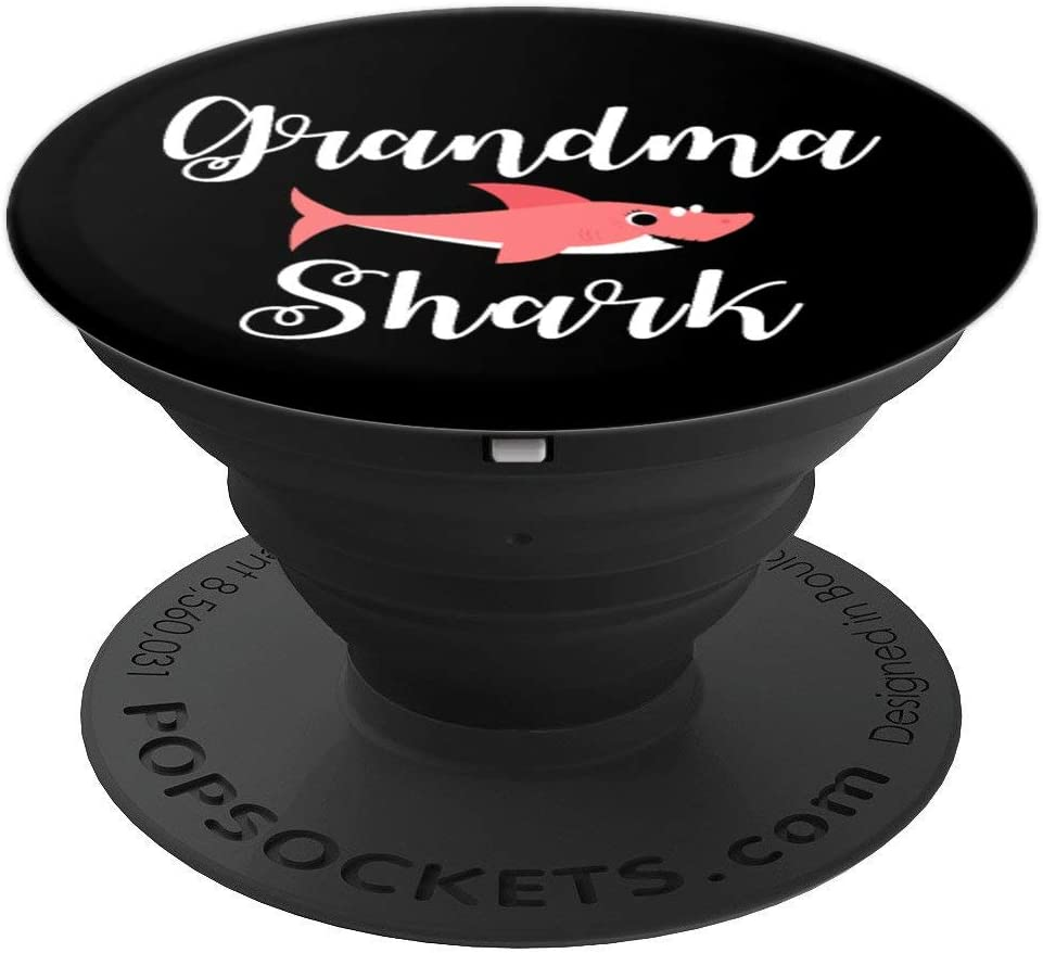 Grandma Shark PopSockets Grip and Stand for Phones and Tablets
