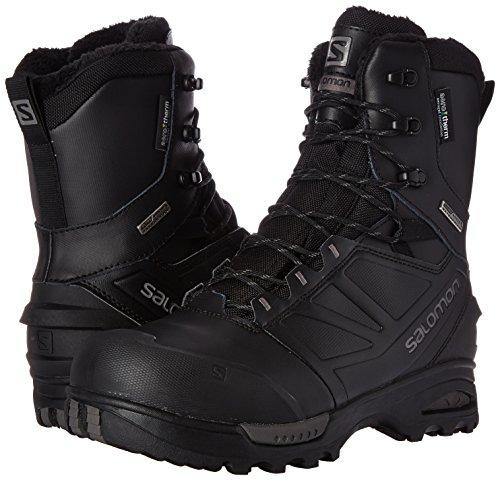 14eb4e93e7d Salomon Men's Toundra Pro CSWP-M Snow Boot, Black/Black/Autobahn, 7 ...