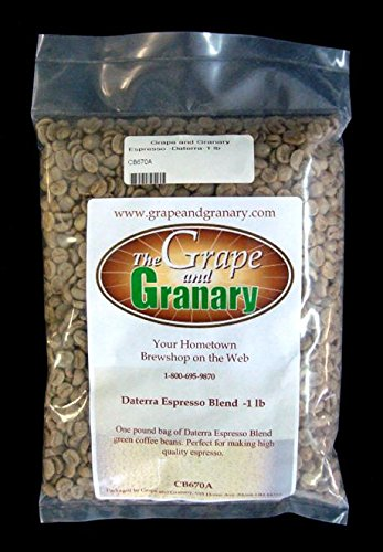 Espresso Daterra unroasted Coffee Beans (1LB)