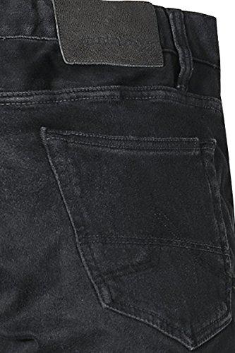 gsus sindustries Herren Jeans Baumwolle Denim-Hose Unifarben, Größe: 30/34, Farbe: Schwarz