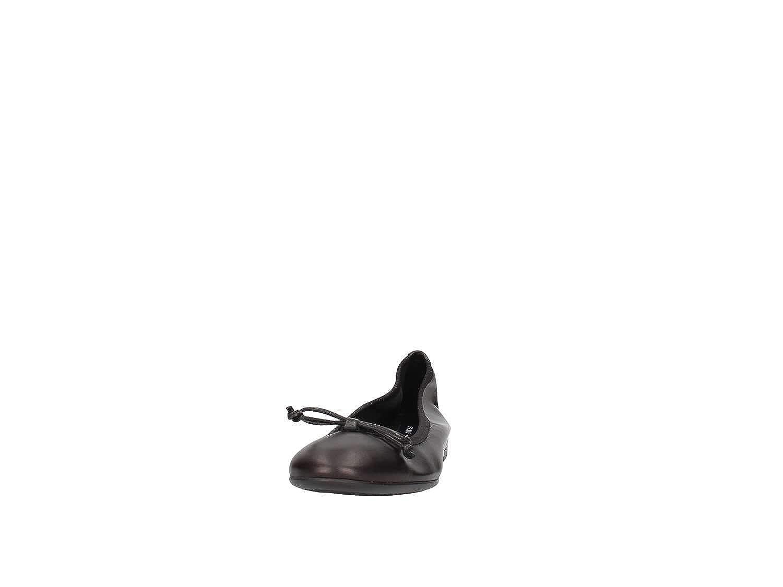 FRAU 70N0 blu scarpe donna ballerine ballerine ballerine elasticizzata pelle 4c94cd