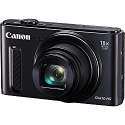 Canon Powershot Sx610 Hs - Wi-fi Enabled (Black) International Version (No Warranty)