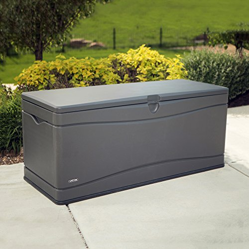 Lifetime 60298 Heavy Duty Outdoor Storage Deck Box 130