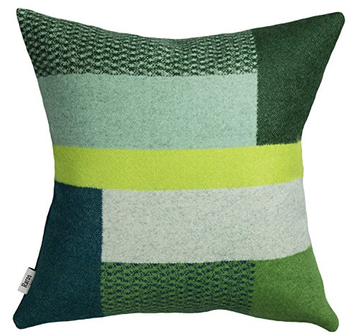 (Roros Tweed 100% Norwegian Wool Reversible Designer Pillow Cushion (Mikkel in)