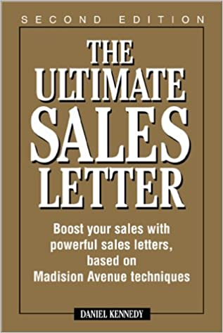 Ultimate Sales Letter 2nd Ed Dan S Kennedy 0045079202573 Amazon