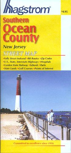 Hagstrom Southern Ocean County New Jersey Street - Ocean Nj County Map