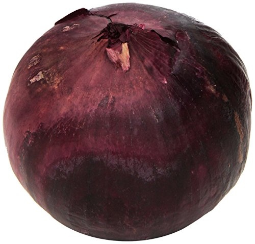 Organic Red Onion, One Large (Red Onion Vegetable)