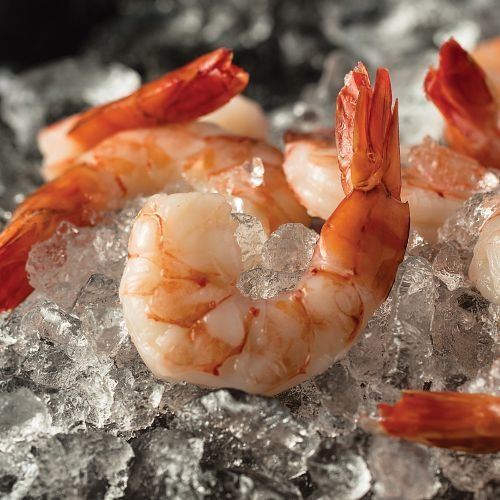 lbs. pkg.) Jumbo Cooked Shrimp ()