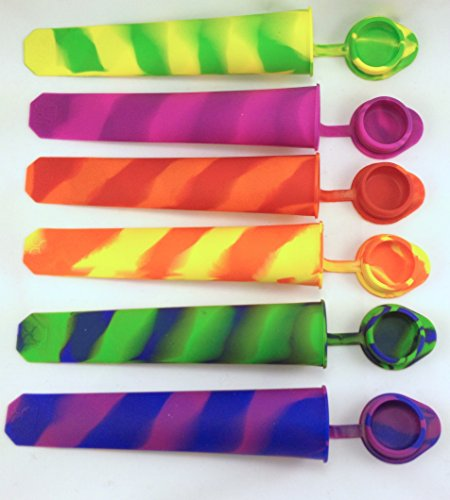 Silicone Popsicle Container Keeper Attached product image